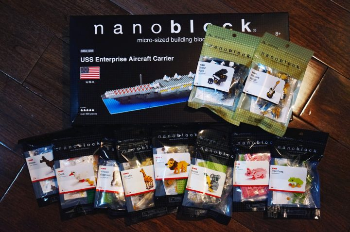 more nanoblocks collection