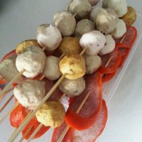 Meat/Fish Balls and Sauages