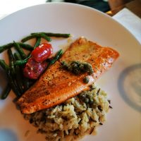 rainbow trout with lemon butter