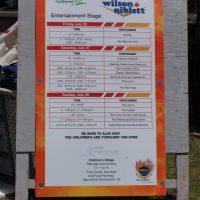 stage schedule
