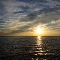 sunset at Port Dalhousie