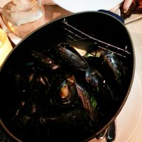Belgian White Mussels