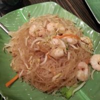thai fried glass noodles