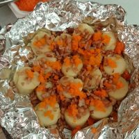 scallops with bacons