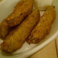 deep fried pickets