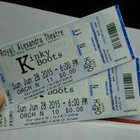 kinky boots tickets!!
